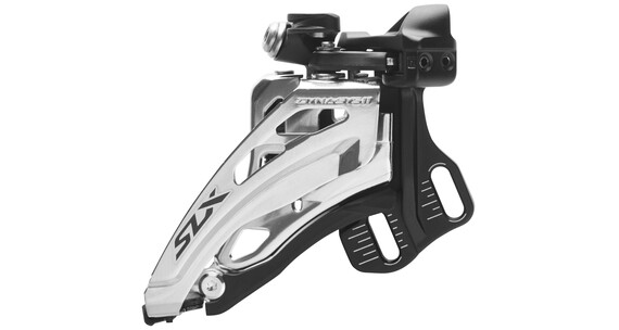 Shimano SLX FD-M7000 etuvaihtaja suora-asennus syvä 2x11 Side Swing , musta